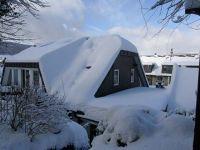 winterliche Belastungsprobe für Rinnen und Randverblechungen im Thüringer Wald 2011