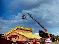 Richtfest neues Betriebsgebäude St. Kilian